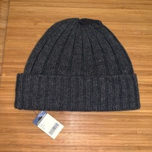 952cb6fb0c1e9 Polo by Ralph Lauren Accessories - New Polo Ralph Lauren Charcoal Beanie  Hat Cap NWT!